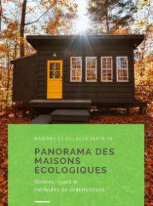 panorama des maisons écologiques